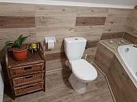 Koupelna s vanou a toaletou - Staré Křečany