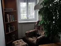 Relaxační koutek - pronájem apartmánu Staré Křečany