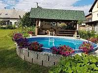 Terasa s bazénem - Staré Křečany