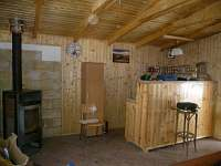 bar v pergole - chata k pronajmutí Jetřichovice