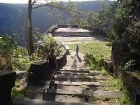 Vyhlídka Belvedér 1km chůze - Hřensko
