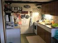 kuchyňský kout - pronájem roubenky Staré Křečany
