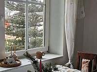 Kuchyň - chalupa ubytování Krásná Lípa