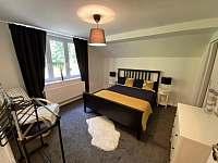 ložnice - pronájem chalupy Dolní Chřibská