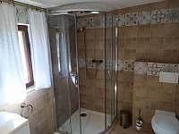 naše nová koupelna - chata k pronájmu Jetřichovice