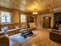 Chalupa 47, obývací pokoj I. - ubytování Hřensko