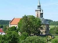 kostel sv. Mikuláše - chata k pronájmu