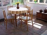 veranda - chata k pronájmu Růžová