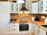 Kuchyně - chalupa k pronajmutí Krásná Lípa - Dlouhý Důl
