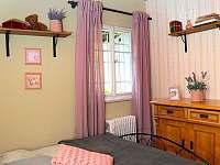Malý pokoj 9 m2 - chalupa k pronájmu Krásná Lípa - Dlouhý Důl