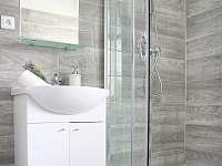 Čtyřlůžkový apartmán koupelna - k pronajmutí Krásná Lípa
