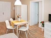 Dvoulůžkový apartmán s přistýlkou kuchyň - pronájem Krásná Lípa