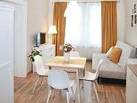 Dvoulůžkový apartmán s přistýlkou kuchyň - k pronájmu Krásná Lípa