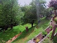 Zahrada - pronájem chalupy Mezná