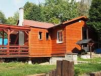 Chata k pronajmutí - dovolená  Školní rybník rekreace Vlčí Hora