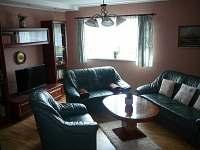 Obývací pokoj - chalupa ubytování Krásná Lípa - Krásný Buk