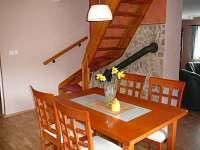 Po schodech do druhého patra - chalupa k pronajmutí Krásná Lípa - Krásný Buk