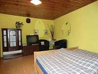 2lůžkový pokoj - rekreační dům ubytování Česká Kamenice