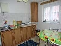 kuchyňka - rekreační dům ubytování Česká Kamenice