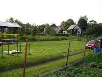 hřiště a dětský koutek - apartmán ubytování Mikulášovice