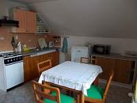 kuchyň ap.2 - pronájem apartmánu Mikulášovice