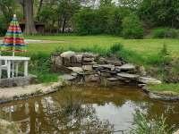 Zahrada - apartmán k pronájmu Chřibská - Krásné Pole