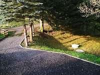 Parkoviště u chaty