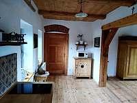 Apartmán v patře - kuchyň - k pronajmutí Krásná Lípa