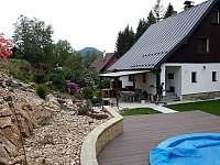 Pohled od bazénu - Jetřichovice - Všemily
