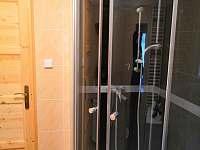 první sprchový kout - pronájem chalupy Jetřichovice - Všemily