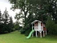 Domeček pro děti - pronájem srubu Království