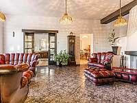 Obývací pokoj - pronájem chalupy Varnsdorf
