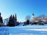 Villa Michael v zimě