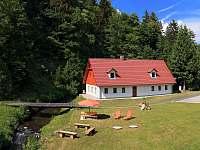 Chaty a chalupy Kytlice - Lesní rybník na chalupě k pronajmutí - Dolní Chřibská