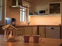 Kuchyň apartmánu 2 - Dolní Chřibská