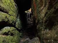 Úzké schody - Dolní Chřibská