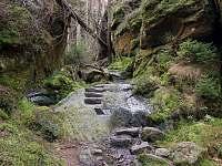 Zadní můstkový důl - Dolní Chřibská