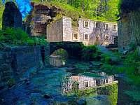 Dolský mlýn - pronájem chalupy Jetřichovice - Rynartice