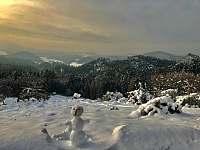 Křížový vrch zima - Jetřichovice - Rynartice