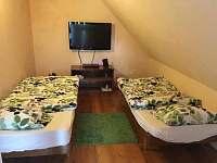 ložnice 1 - chalupa ubytování Jetřichovice - Rynartice