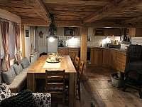 Obývací pokoj s kuchyní - Sněžník