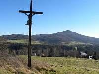 výhled z Křížového vrchu v Rynarticích