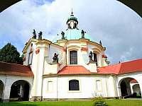 Kaple Narození Panny Marie - pronájem apartmánu Česká Kamenice