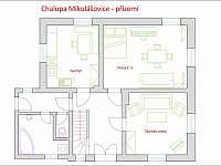 Dispozice přízemí - Mikulášovice