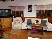 obývací pokoj - pronájem chalupy Nové Hraběcí