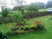zahrada - chalupa k pronájmu Nové Hraběcí