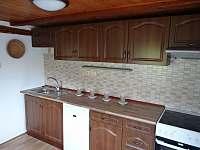 Apartmán I - kuchyň I. - pronájem chalupy Nové Hraběcí