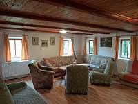 Apartmán I - obývací pokoj II. - pronájem chalupy Nové Hraběcí