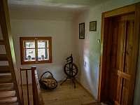 Zátiší na chodbě v 1. patře - pronájem chalupy Kámen