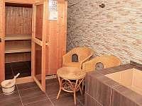 sauna - chalupa k pronajmutí Krásná Lípa